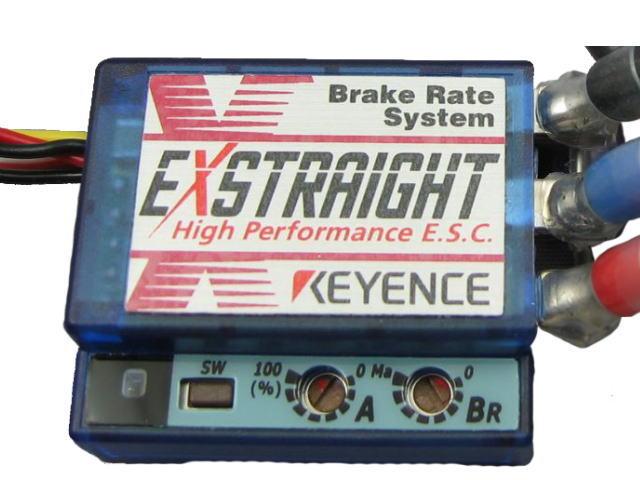 ラジコン                     ラジコン EXSTRAIGHT N エクストレイ Nタイプ カラー:ブルースケルトン 12ゲージコネクタレス仕様
