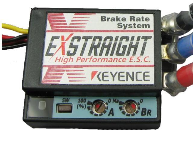 ラジコン                     ラジコン EXSTRAIGHT N-B エクストレイ カラー:ブラック Nタイプ 12ゲージコネクタレス仕様