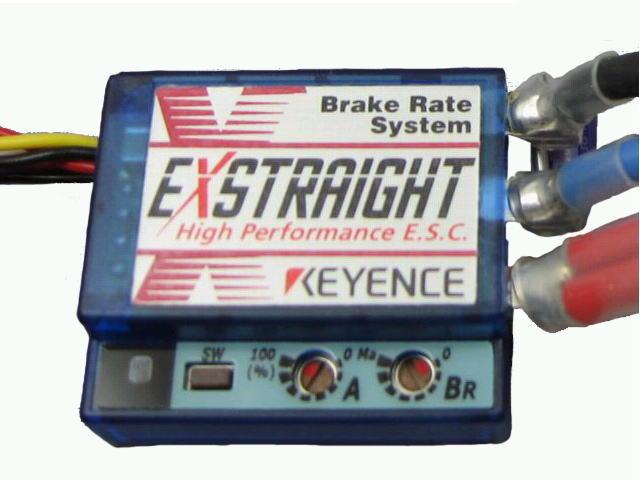 ラジコン                     ラジコン EXSTRAIGHT J エクストレイ J型 ブルースケルトン仕様 タミヤコネクター仕様