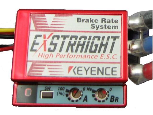 ラジコン                     ラジコン EXSTRAIGHT N-MR エクストレイ カラー:メタリックレッド Nタイプ 12ゲージコネクタレス仕様