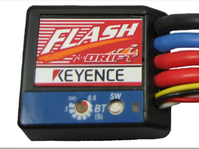 ラジコン                     ラジコン FLASH フラッシュ エディションD カラー:ブラック ドリフト用 D-BL