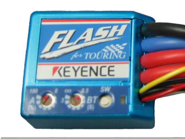ラジコン                     ラジコン FLASH T-MB フラッシュ For ツーリング用アンプ カラーメタリックブルー エディションT ツーリング用