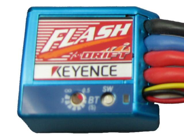 ラジコン                     ラジコン FLASH フラッシュ エディションD  カラー:メタリックブルー D-MB ドリフト用アンプ