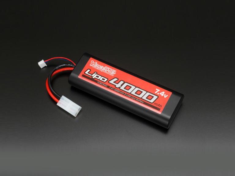 ヨコモ YB-L400 リチウムポリマー 4000mAh 30C-7.4V  RC 動力用バッテリー