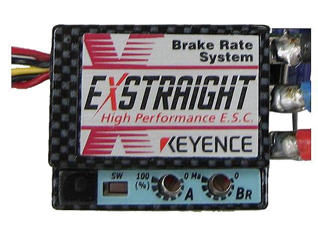 ラジコン                     ラジコン EXSTRAIGHT N エクストレイ Nタイプ カラー:カーボン 12ゲージコネクタレス仕様