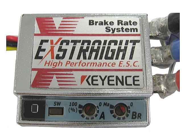 ラジコン                     ラジコン EXSTRAIGHT N エクストレイ Nタイプ カラー:プラチナ 12ゲージコネクタレス仕様