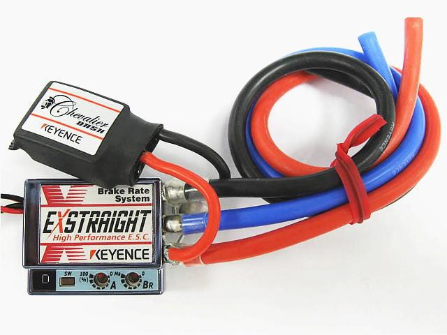 ラジコン                     ラジコン EXSTRAIGHT N エクストレイ Nタイプ カラー:シャインブルー 12ゲージコネクタレス仕様 シュバリエダッシュ搭載モデル