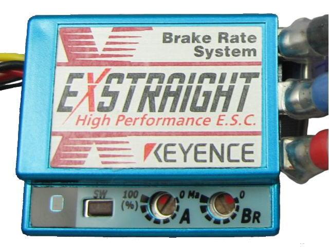 ラジコン                     ラジコン EXSTRAIGHT N-B エクストレイ カラー:メタリックブル- Nタイプ 12ゲージコネクタレス仕様
