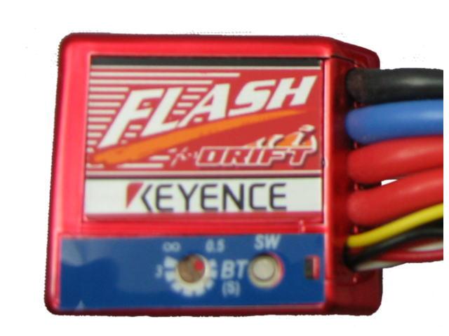ラジコン                     ラジコン FLASH フラッシュ エディションD ドリフト仕様モデル カラー:メタリックレッド