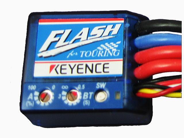ラジコン                     ラジコン FLASH フラッシュ エディションT ツーリング仕様モデル カラー:クリアブルー