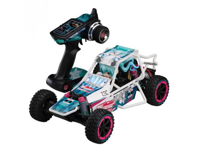 ラジコン                     ラジコン 1/10スケール 電動ラジオコントロール 2WDバギー EZシリーズ サンドマスター レーシングミク2014バージョン レディセット