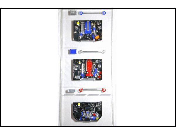 ラジコン                     ラジコン PAI-801 エンジンセット < SR/ RB / FA > ポリカ製未塗装品