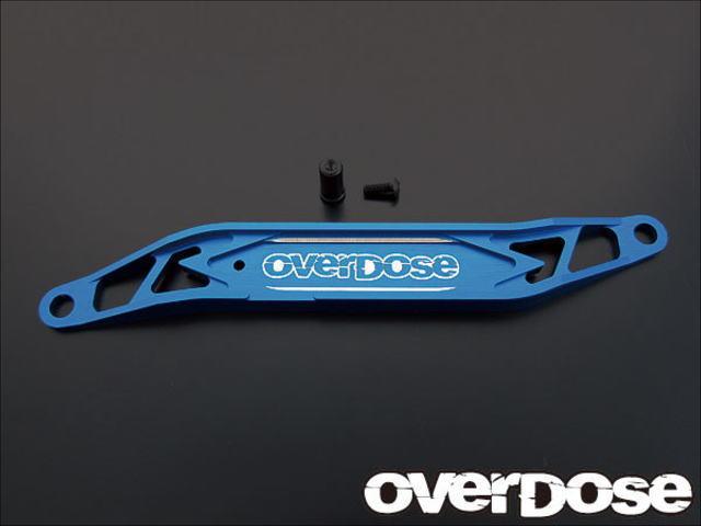 ラジコン                     ラジコン オーバードーズ OD1251 アルミバッテリーサポート(For ドリパケ/ブルー)