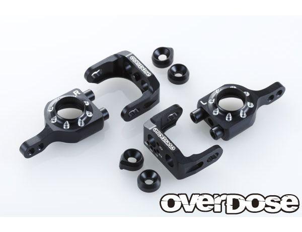 ラジコン                     ラジコン OD1567 アジャスタブルアルミアップライトセット (For Vacula A-Arm / ブラック )
