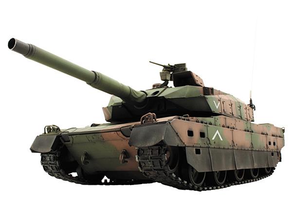 ラジコン                     ラジコン 1/24 A30103036 VS TANK 27MHz赤外線バトルタンク 陸上自衛隊 10式戦車