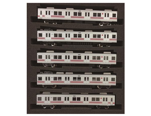 グリーンマックス 4361 東急8090系後期形大井町線赤帯 5両セット*