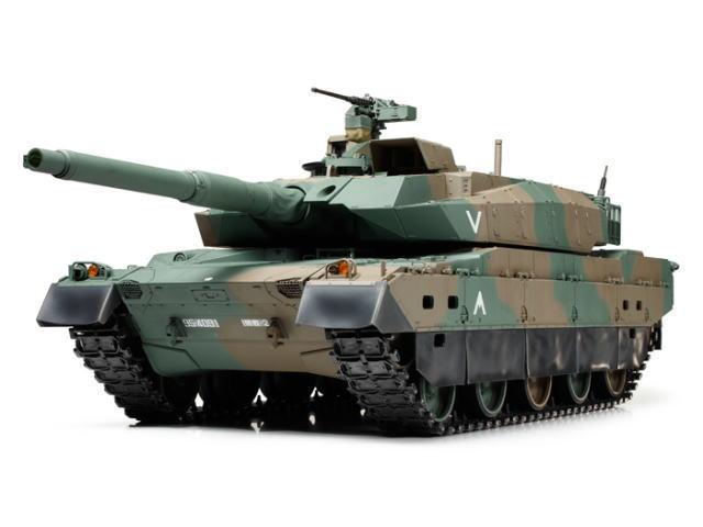 1/16RCタンクシリーズ 陸上自衛隊 10式戦車 フルオペレーションセット(4ch プロポ付)