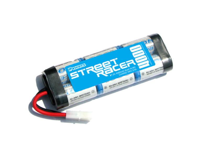 ラジコン                     ラジコン PJ-NSR40 STREET RACER 4000 ニッケル水素バッテリー